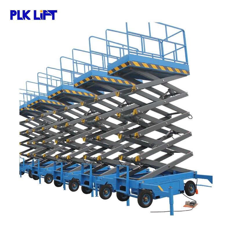 16 м 2000 кг мульти ножницы воздушная Рабочая платформа