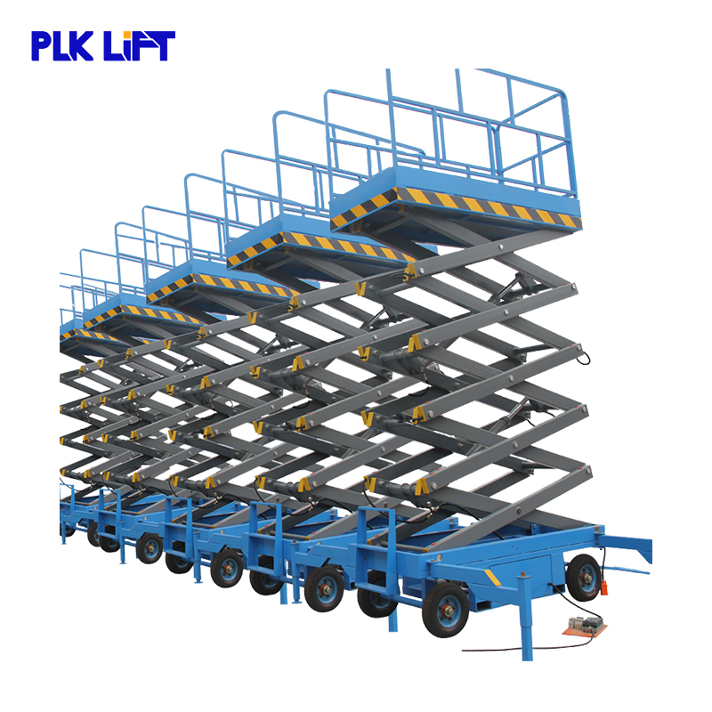 16 м 2000 кг Мини Воздушный Гидравлический Электрический genie manlift