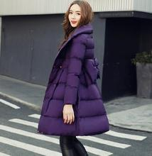 Fashion winter womens down jacket maternity Hooded outerwear parkas pregnancy clothing warm Cotton Wadded Coats