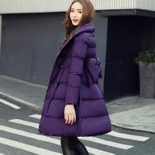 Fashion winter women's down jacket maternity Hooded outerwear parkas pregnancy winter clothing warm Cotton Wadded Coats