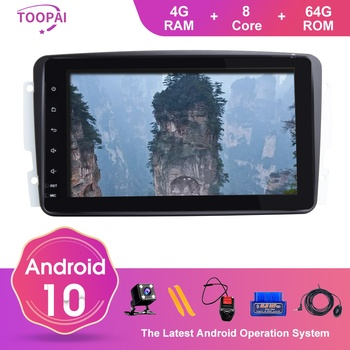 TOOPAI Android 10 For Mercedes Benz CLK W209 Vito W639 Viano Canbus Auto Radio GPS Navigation Car Multimedia Player IPS DSP New image
