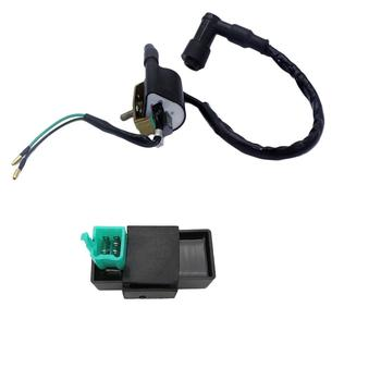 New High Performance Ignition Coil & 5 P AC CDI Box Fit for Jackel Wildfire Gokart ATV 50cc 90cc 110cc 125cc image