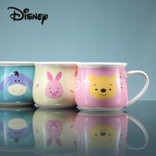 Disney Ceramic Cup 300ml Winnie The Pooh  Coffee Mug Cute Mugs Travel Cups and Tumbler Cartoon Childrens Gift mug
