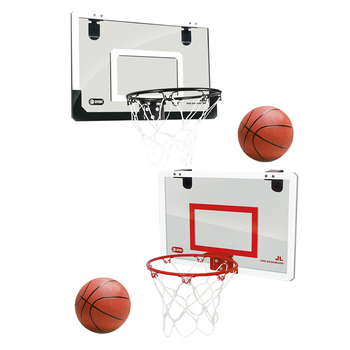 Children Hanging Basketball Hoop Indoor Door Wall Mounted Kids Mini Basket Ball Board Toy Set with Pump - discount item  25% OFF Outdoor Fun & Sports
