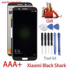 5.99 ''için AAA kalite LCD Xiaomi siyah köpekbalığı LCD ekran dokunmatik ekran Digitizer meclisi için Xiaomi BlackShark SKR-A0 LCD araçları
