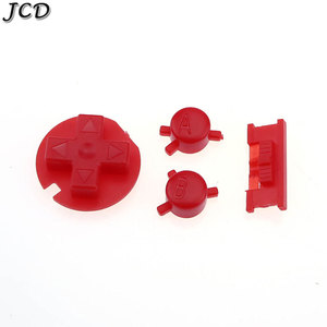 Image 4 - JCD 10sets/lot Plastic Power ON OFF Buttons Keypads for Gameboy Color GBC Colorful Buttons for GBC D Pads A B Buttons