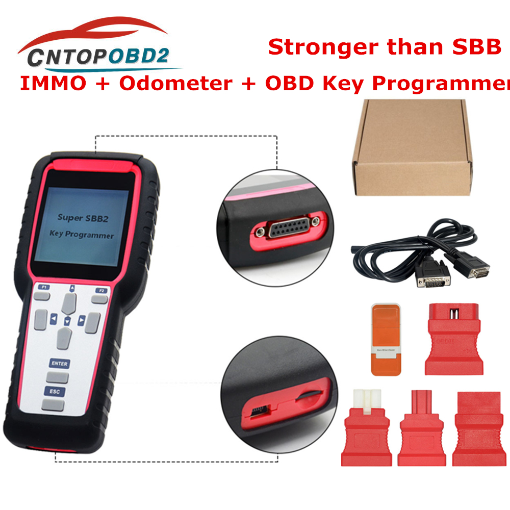 Super SBB2 <font><b>Auto</b></font> <font><b>Key</b></font> <font><b>Programmer</b></font> Powerful Function Than SBB IMMO/Odometer/TPMS/EPS/BMS Supports Multi-Brand Car SBB2 Scanner image
