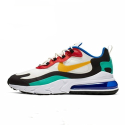 Original Authentic Nike Air Max 270 React Men's Running Shoes Trend Outdoor Sports Shoes 2019 New Training Shoes AO4971-002