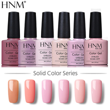 HNM 8ML Reine Farbe Nagel Gel Semi Permanent UV LED Gel Nagellack Glück Lack Hybrid Gel Lack Gellak nagel Gelpolish Tinte