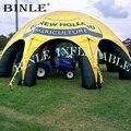 Открытый 8 ног надувной паук шатер вечерние события шатер беседка крышка автомобиля палатки для рекламы