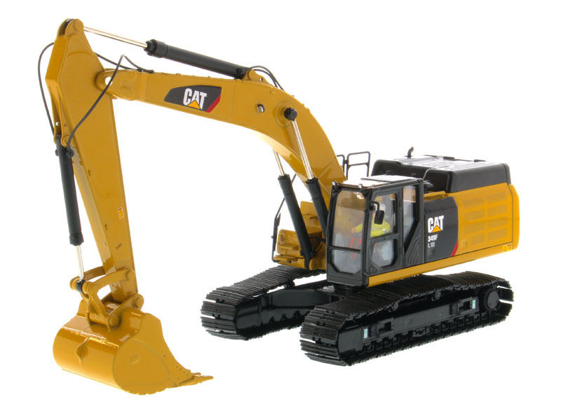 Diecast Masters #85943 1/50 Scale Caterpillar 349F L XE Hydraulic Excavator Vehicle CAT Engineering Truck Model Cars Gift Toys image