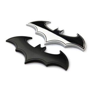 Image 5 - Auto In Metallo Batman Adesivi Per Auto 3D Tre dimensionale Adesivi Decorativi Batman Superman Etichettatura Coda di Auto Autoadesivi Del Corpo di Styling