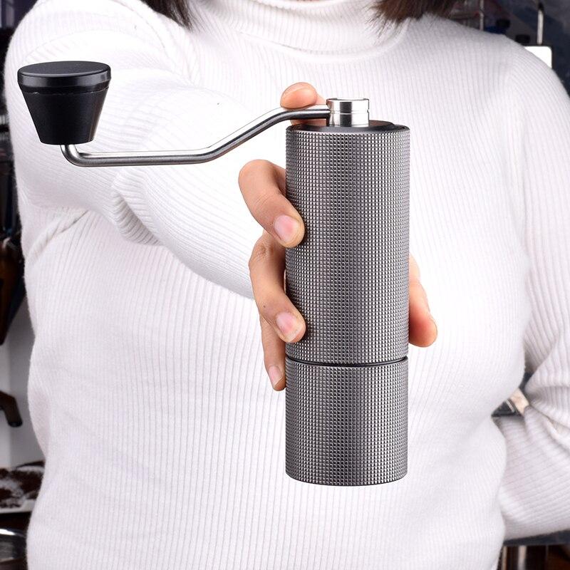 Timemore châtaigne C moulin à café aluminium manuel moulin à café acier inoxydable broyeur à bavures conique café grain miller