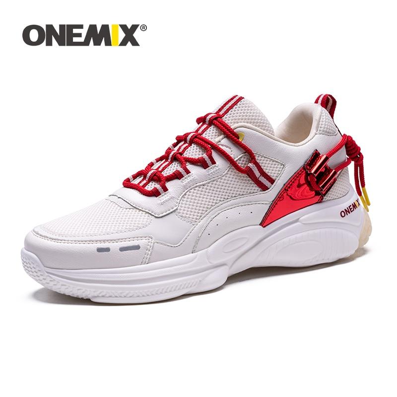 ONEMIX Winter Women Running Shoes Outdoor Sport Sneakers Autumn Men Sneakers Trainers Athletic Fitness Jogging Footwear Sneakers
