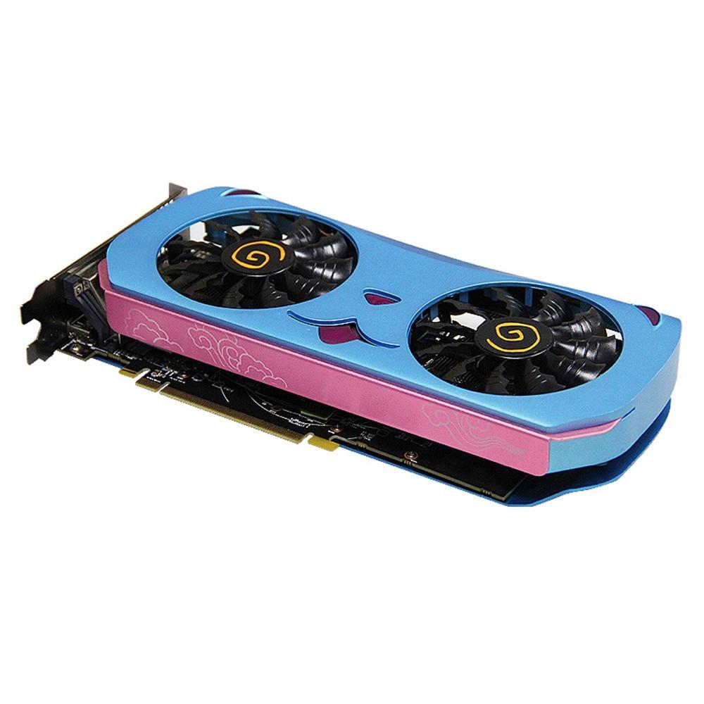 Yeston Radeon RX580 Graphics Card CUTE PET PCI Express X16 3.0 2048SP-8GB GDDR5 Video Gaming Graphics Card External For Desktop