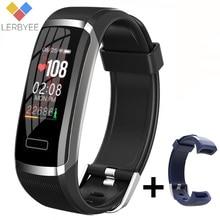 Lerbyee חכם שעון GT101 Bluetooth שינה צג כושר שעון קצב לב צג צבע מסך גברים נשים Smartwatch ריצה חדש