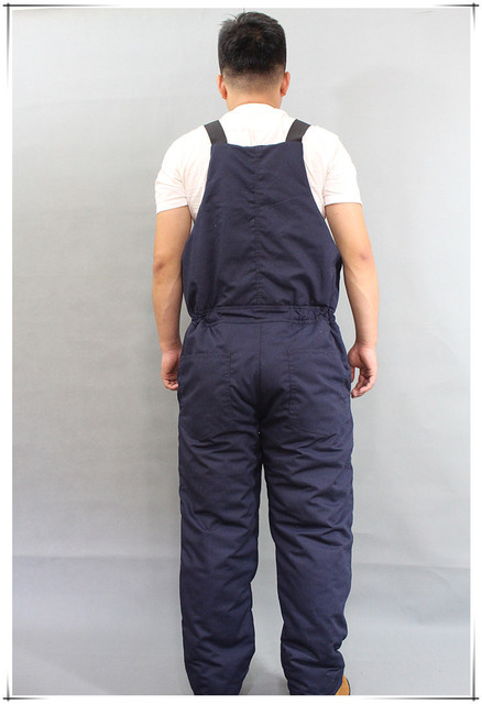 Winter Warm Thicken Working Tooling Overalls Male Work Wear uniforms Wear resistant Cold proof Jumpsuits For Worker Repairman 3