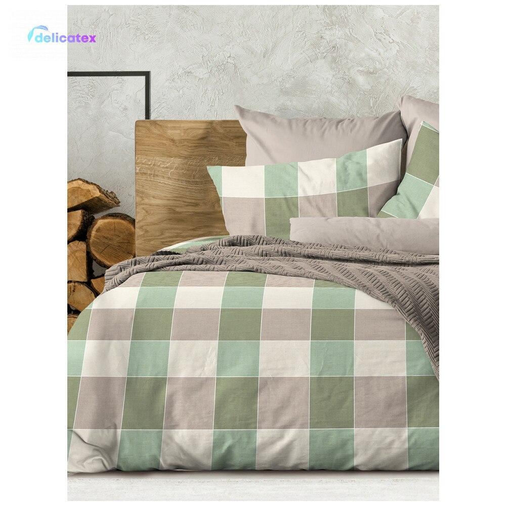 Conjunto de cama delicatex 15406-2style casa têxtil lençóis lençóis de linho coxim capa edredon cover illowcase