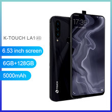 Global Version K-Touch LA1 6.53Inch Smartphones 6GB 128GB Rear Camera 30MP Telephone Android 4G LTE 5000mAh Android Smartphone