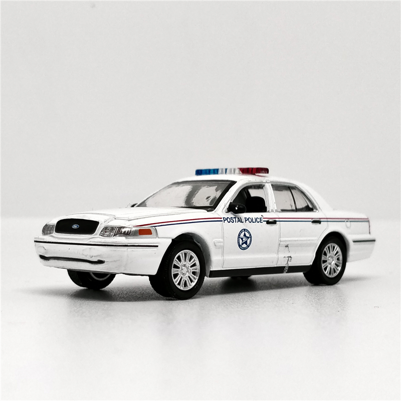 Greenlight 1:64 Ford Crown Victory Police Car White No Box