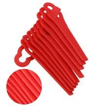 100 Шт Качели пластиковые подвески с лезвиями для беспроводного триммера травы садового таймера легко Strimmer