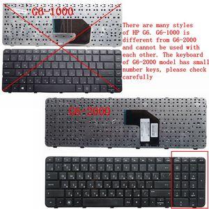 Image 4 - GZEELE الروسية كمبيوتر محمول لوحة مفاتيح إتش بي جناح G6 2000 G6Z 2000 g6 2100 G6 2163sr AER36Q02310 R36 RU أسود إطار G6 2365EA