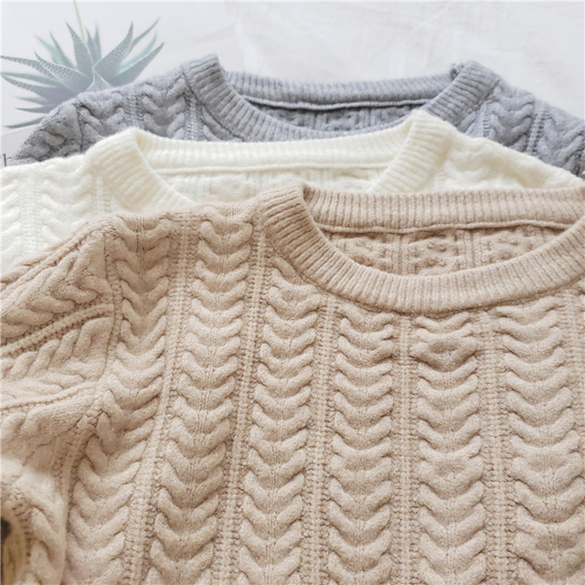 Ailegogo New 2020 Autumn Winter Women Warm Sweaters Knitting Pullovers Full Sleeve Stylish Slim Fit Top Clothing 6