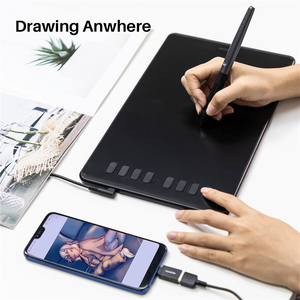 Image 5 - HUION H950P Digital Tablet Drawing Pen Tablet Graphics tablet with OTG Battery Free Stylus for Android/PC