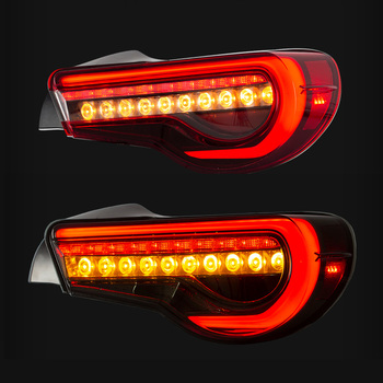LED Tail Light Assembly for 86 Subaru BRZ 2012 2013-2015 2016 2017 2018 Tail Light Reverse Light Sequential Turning Signal Light