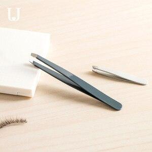 Image 3 - Youpin Jordan&Judy Eyebrow Clip Set Small Tweezers Hair Removal Plucker Beard Clip Eyebrow Trimming Tool