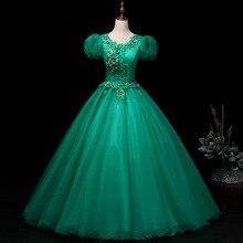 Ball-Gown Quinceanera-Dress Party Gryffon Formal Vintage Sweet Short Vestidos Puff-Sleeve