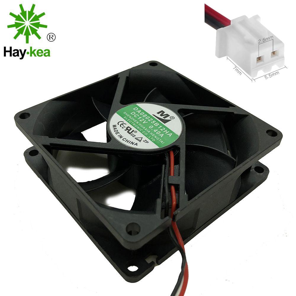 PC 2-pin DC Brushless Fan CPU System Heatsink Mini Computer Fans Cooling Cooler