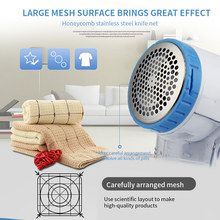 Electric-Clothing-Lint-Remover Clipper Sweater Trimmer Pellet Fabric Fuzz-Shaver Fluff