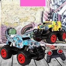 Rc Car 2.4g 4ch Double-sided Bounce Drift Stunt Car Rock Crawler Roll Car 360 Degree Flip Remote Control Car Kids Toys Gift