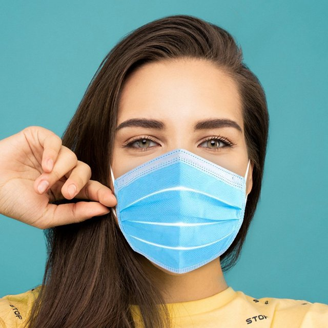 In stock Disposable Masks 30/50 pcs Mouth Mask 3-Ply Anti-Dust  Nonwoven Elastic Earloop Salon Mouth Face Masks 3