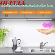 Умный индукционный светильник oufula usb ручная индукция для