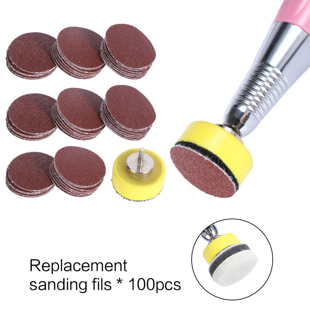 TP Replaceable Pedicure Sandpaper Disc Cuticle Callus Remove Tool For Electric Foot File Callus Hard Dead Skin Pedicure Tools