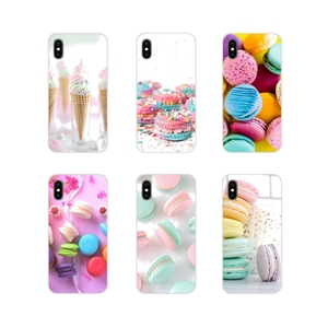 Mobile Phone Cases Cover For Xiaomi Redmi Note 3 4 5 6 7 8 Pro Mi Max Mix 2 3 2S Pocophone F1 dessert ice cream laduree Macarons