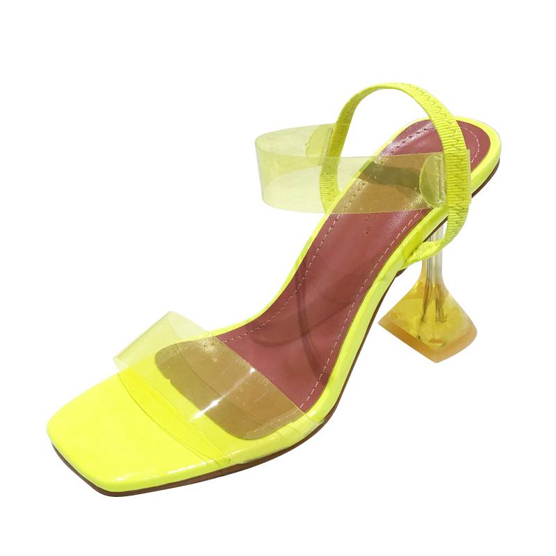 Lime Yellow Heels