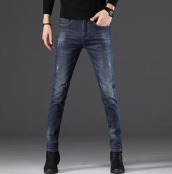 Высокое качество 2020 Стильные повседневные прямые узкие джинсы для мужчин Лидер продаж длинные брюки для мужчин Бесплатная доставка