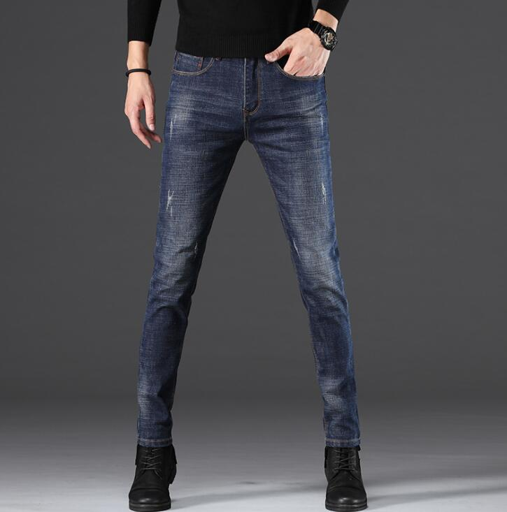Top Quality 2020 StylishCasual Straight Slim Jeans For Men Hot Sales Long Pants For Male Free Shipping