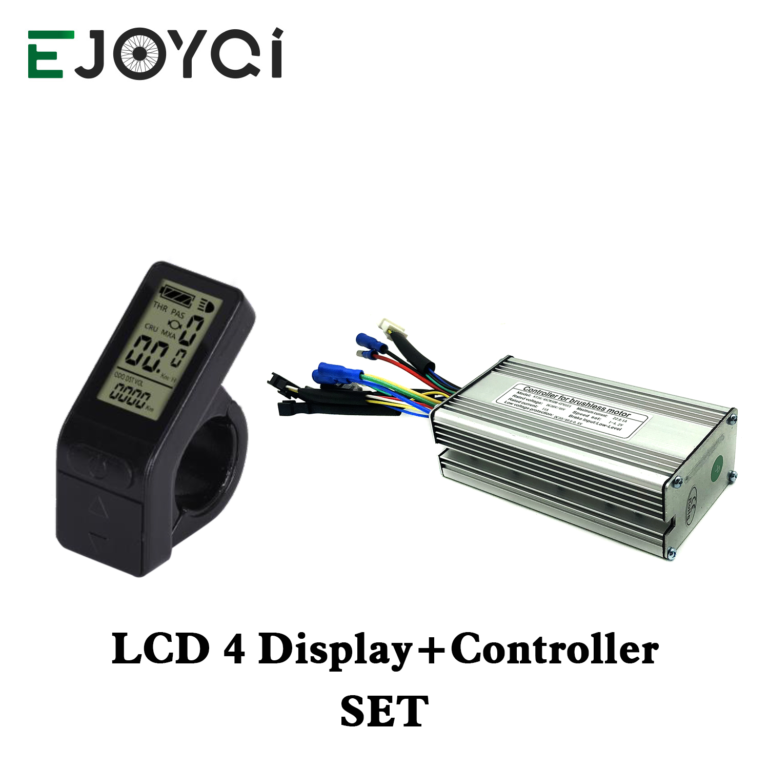 EJOYQI KT 36V 48V 14A 22A Controller 250W 500W Motor Electric Bike Conversion Accessories With LCD 4 Display