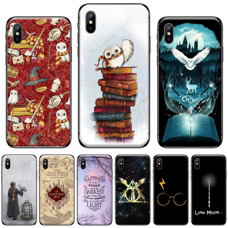 eternally Hogwart Harries Potter Comic DIY phone Case cover Shell For iphone 5 5s 5c se 6 6s 7 8 plus x xs xr 11 pro max