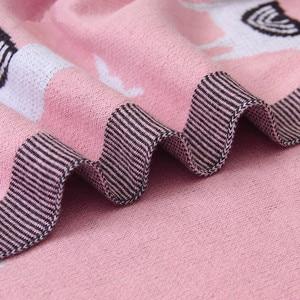 Image 5 - Вязаное одеяло для детской кровати, пеленка из альпаки для новорожденных, мягкое покрывало для младенцев, диван для малышей, постельное белье, одеяло для сна, аксессуары для детской коляски