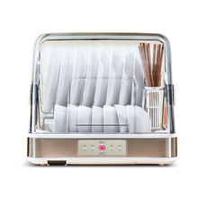 Kitchen-Rack Dishes-Storage Tabletop Disinfection Home with Cover Leaching Chopsticks
