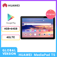 Global Version HUAWEI Mediapad T5 10.1 inch 4G LTE New Tablet 1080P Full HD 4GB 64GB Kirin 659 Octa Core Fingerprint Android 8.0