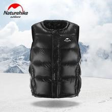 Naturehike Ultralight 150g חיצוני למטה מעיל 95% לבן אווז למטה חורף סתיו לשמור חם גברים נשים למטה אפוד 1000 פלאפי למטה