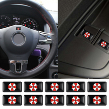 Car Umbrella Corporation Waterproof Stickers Decals Emblem Decorations For Volkswagen