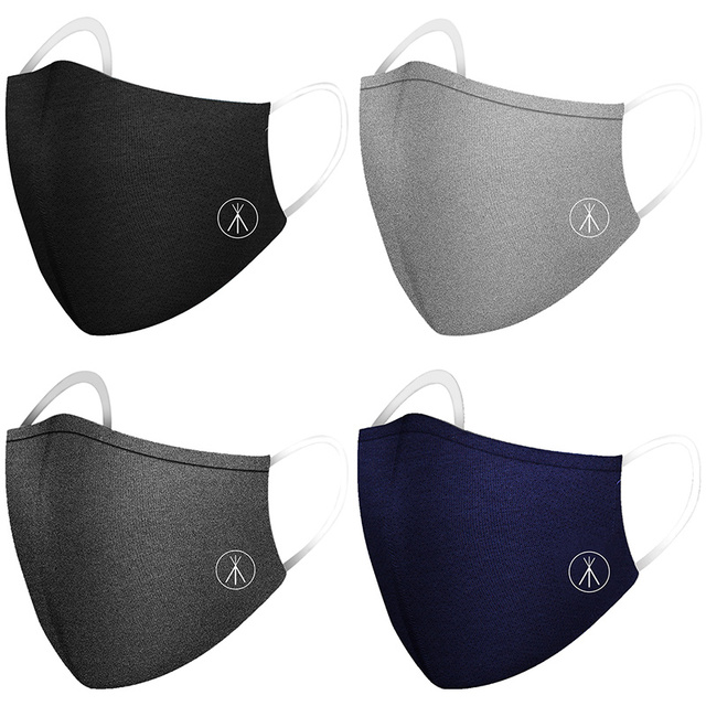PM2.5 Cotton Anti-dust Mask Dustproof Activated Carbon Filter Windproof  And Flu Mask Care Belt Filter Equivalent  KN94 1