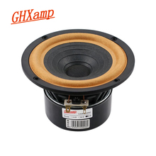 Ghxamp 5 Inch Full Range Speaker 8ohm 30W 138 Mm Volledige Frequentie Luidspreker Doek Rand Home Theater Gegoten Aluminium antimagnetic 1 Pc